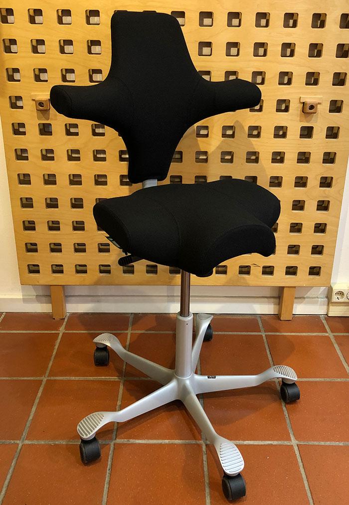 CAPISCO Sattelsitz schwarz